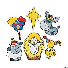 Happy Birthday Jesus Cutouts