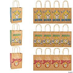 Happy Birthday Jesus Kraft Gift Bags