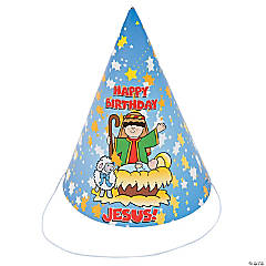 """Happy Birthday Jesus"" Party Hats"
