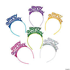 Happy Birthday Headbands