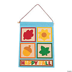 Happy Fall Banner Craft Kit