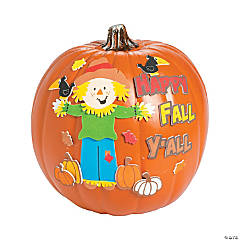 Happy Fall Ya'll Pumpkin Decorating Craft Kit