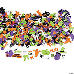 Happy Halloween Self-Adhesive Sticker Shapes