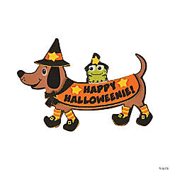 Happy Halloweenie Magnet Craft Kit