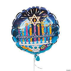 Happy Hanukkah Mylar Balloons