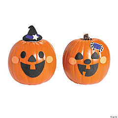 Happy Jack-O'-Lantern Pumpkin Decorating Craft Kit