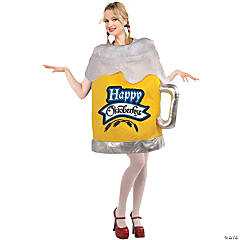 Happy Octoberfest Beer Mug Costume For Women