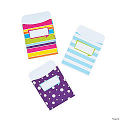 Happy Peel & Stick Library Pockets