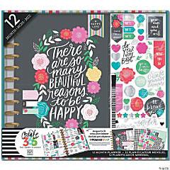 Happy Planner 12-Month Big Planner Box Kit-Flower Pop