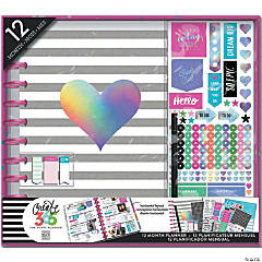 Happy Planner 12-Month Big Planner Box Kit-Rainbow Foil
