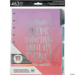 Happy Planner 6-Month Undated Medium Planner Extension Pack-Hourly