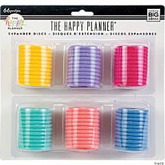 Happy Planner Expander (Big) Disc Value Pack 66/Pkg-Multi Colors