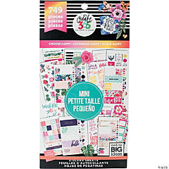 Happy Planner Sticker Value Pack-Choose Happy - Mini, 749/Pkg