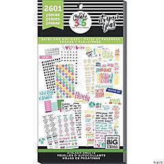 Happy Planner Sticker Value Pack-Dates & Holidays, 2601/Pkg