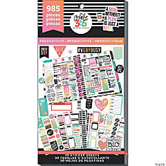 Happy Planner Sticker Value Pack-Productivity - Classic, 985/Pkg