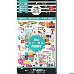 Happy Planner Sticker Value Pack-Seasonal 2 - Mini, 2001/Pkg