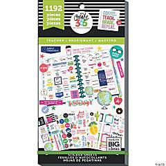 Happy Planner Sticker Value Pack-Teacher, 1192/Pkg