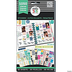 Happy Planner Sticker Value Pack-This Colorful Life - Classic, 1050/Pkg