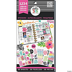 Happy Planner Sticker Value Pack-Today Is The Day, 1234/Pkg