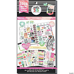Happy Planner Sticker Value Pack-Watercolor - Classic, 1078/Pkg