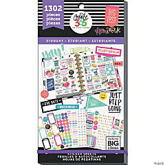 Happy Planner Sticker Value Pack-Yay Student, 1302/Pkg