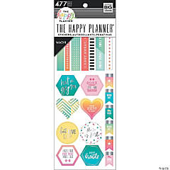 Happy Planner Washi Sticker Book-Fitness, 477/Pkg