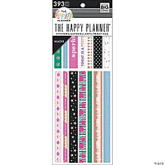 Happy Planner Washi Sticker Book-Girly, 393/Pkg