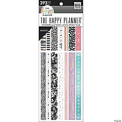 Happy Planner Washi Sticker Book-Pastels, 393/Pkg