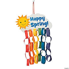 Happy Spring Paper Chain Craft Kit