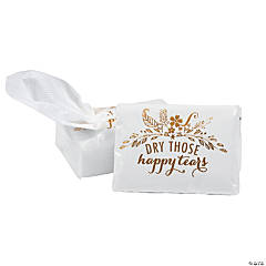 Happy Tears Tissue Favor Packs