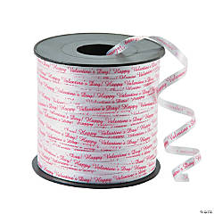 """Happy Valentine's Day!"" Curling Ribbon"
