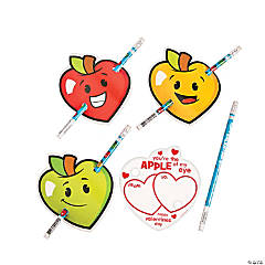 Happy Valentine's Day From Your Teacher Pencils