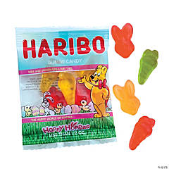 Haribo® Happy Hoppers Gummy Candy Fun Packs