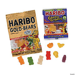 Haribo<sup>&#174;</sup> Sweet & Scary Gummy Candy Fun Packs