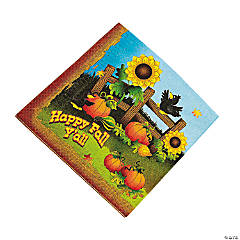 Harvest Hoedown Luncheon Napkins