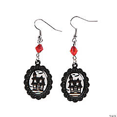 Haunted House Earrings Craft Kit