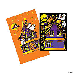 Haunted House Stickers