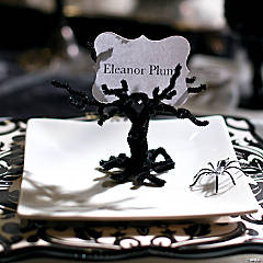 Haunted Mansion Chenille Stem Tree Craft Idea