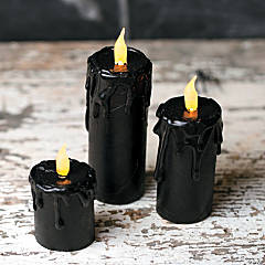 Haunted Mansion Craft Tube Halloween Candles Idea