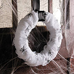 Haunted Mansion Gauze Wreath Décor Idea