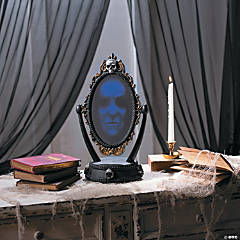 Haunted Reveal Mirror Halloween Décor