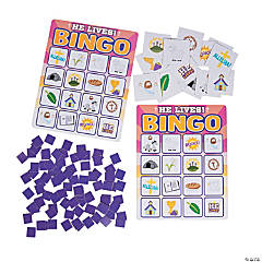 He Lives Bingo Game