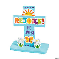 He Lives Stand-Up Cross Craft Kit