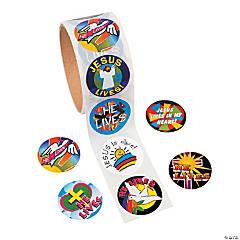 """""""He Lives!"""" Sticker Rolls"""