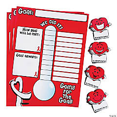 Healthy Heart Jump Rope Goal Tracker Set