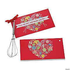 Healthy Heart Whisks with Card