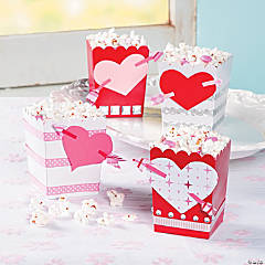 Heart & Arrow Popcorn Box Idea