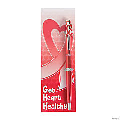 Heart Disease Awareness Pens & Bookmarks