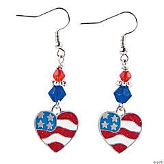 Heart Flag Earrings Craft Kit