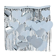 Heart Fringe Wall  Decoration